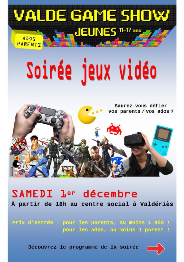 valderies game show 1er decembre resto