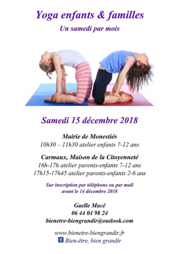 yoga carmaux 15 decembre
