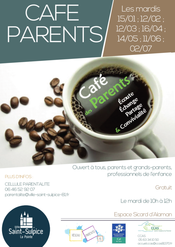 Cafe des parents Saint Sulpice