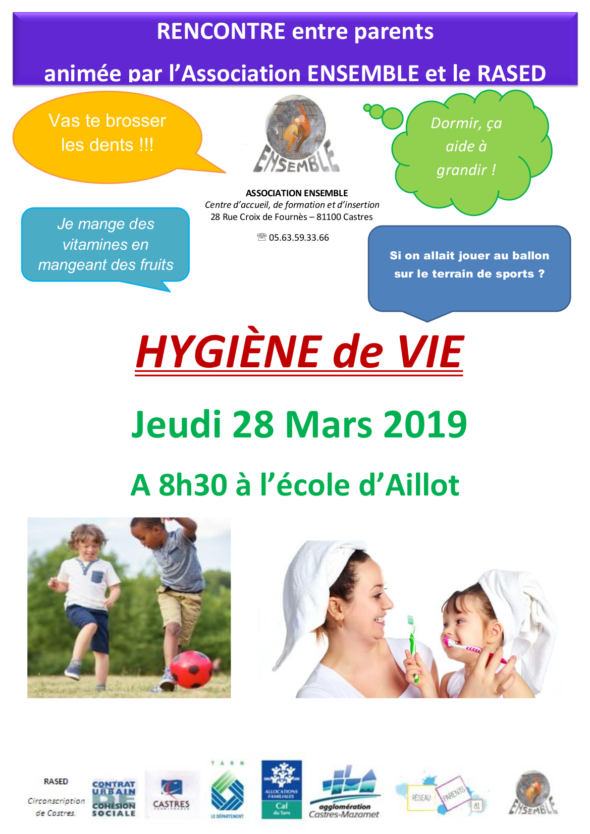 Hygiène de vie 28 mars Ensemble