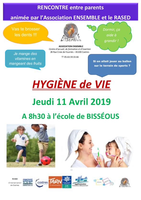 Hygiène de vie bisseous 11 avril