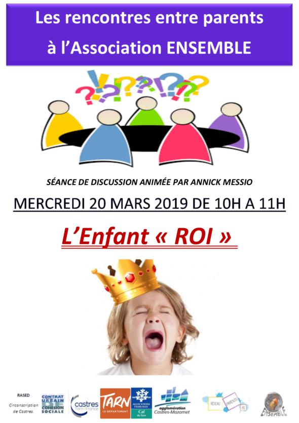 L'enfant roi 20 mars Ensemble
