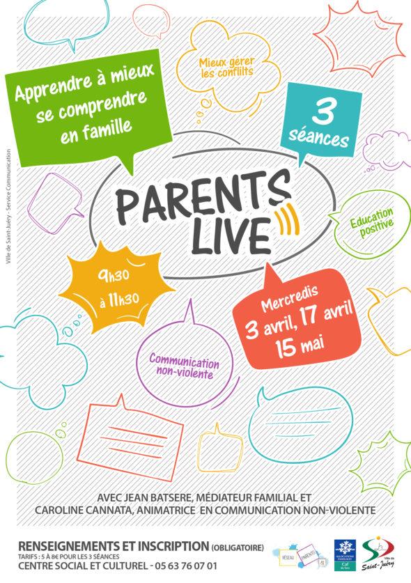 Parents Live avril et mai Saint Juery