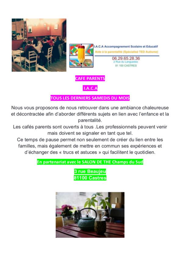 iACA café des parents
