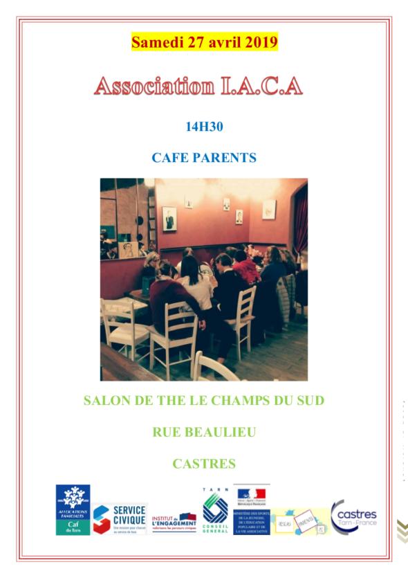 CAFE PARENTS IACA 27 AVRIL