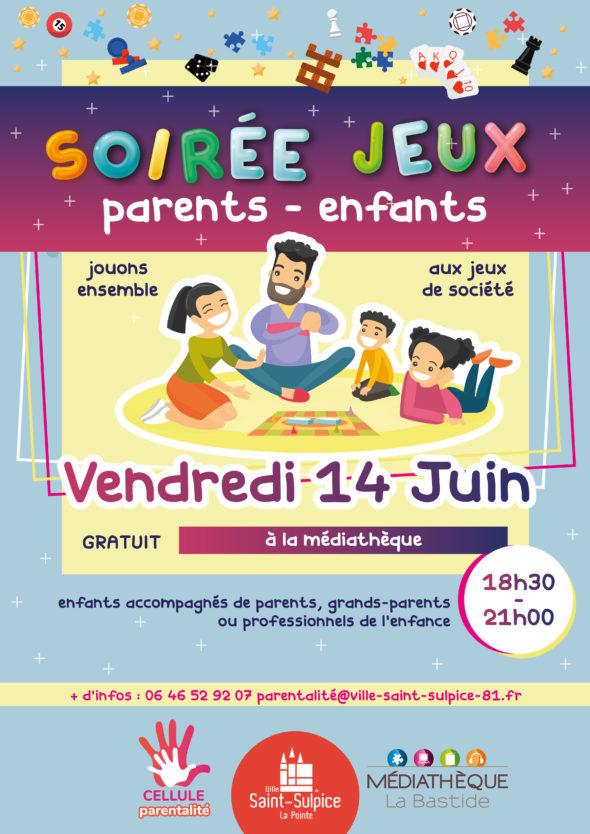 Saint Sulpice soirée jeux 14 juin