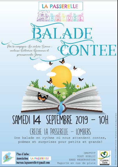Ballade conte 14 septembre