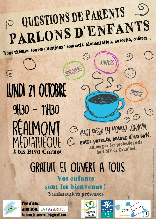 21 OCTOBRE QUESTIONS DE PARENTS REALMONT