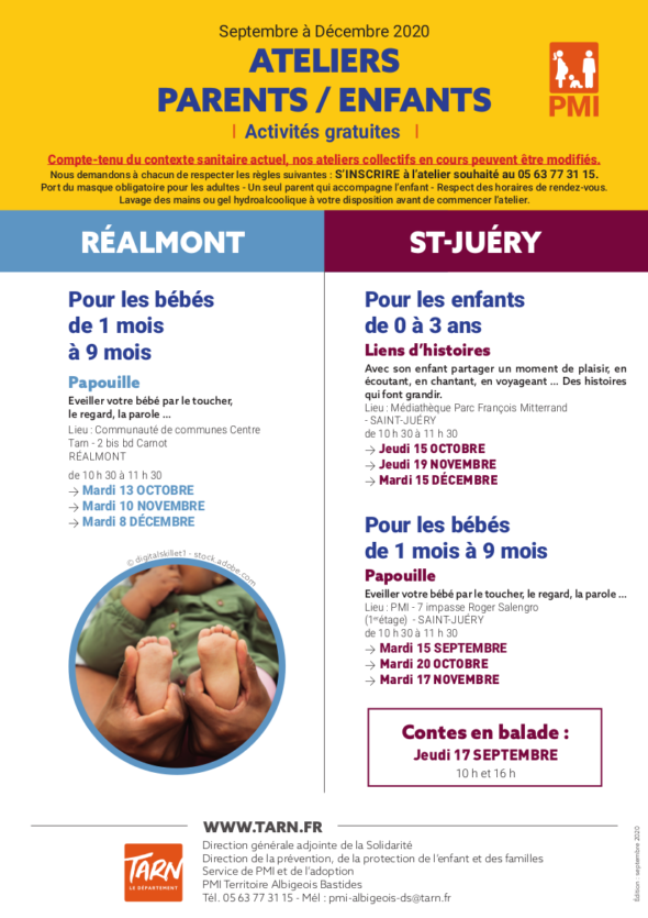 REALMONT SAINT JUERY PMI JUSQUE FIN JUILLET
