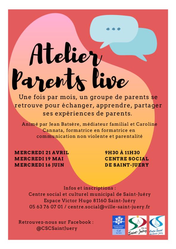 parents live st juery 17 mars au 21 juin